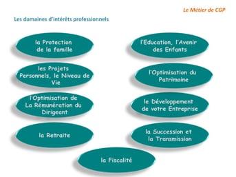 Les Domaines d'intérêts professionnels